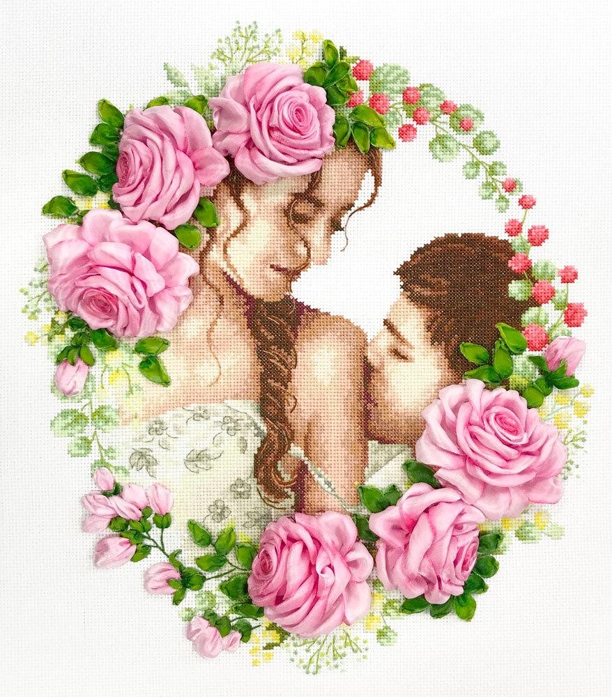 МЛН 13 Нежный поцелуй - набор (Каролинка)