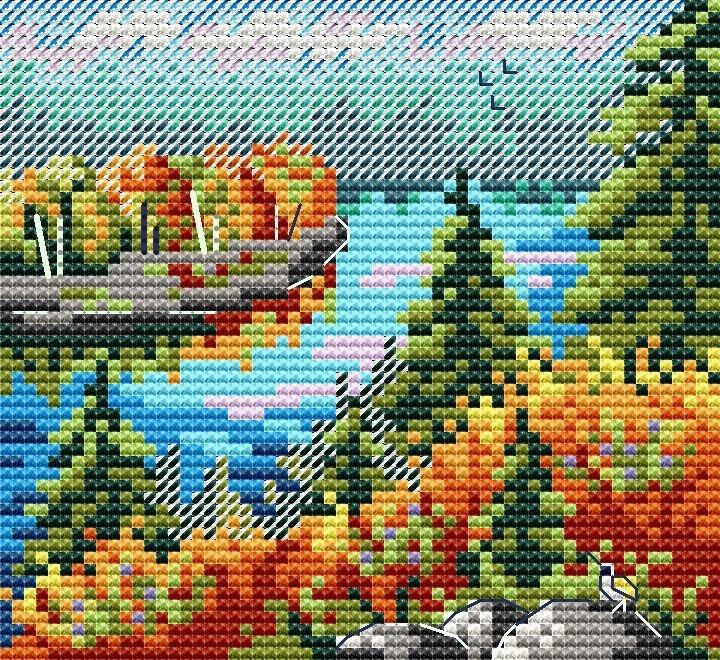 М-615 Осенний лес (МП Студия)