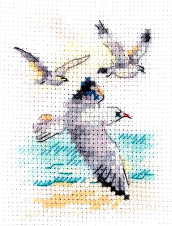 0-221 Ветер с моря. Чайки