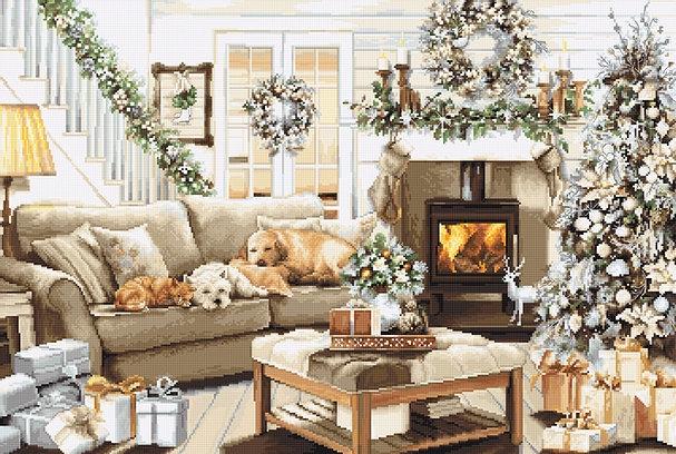 B2393 Мечтая о белом Рождестве