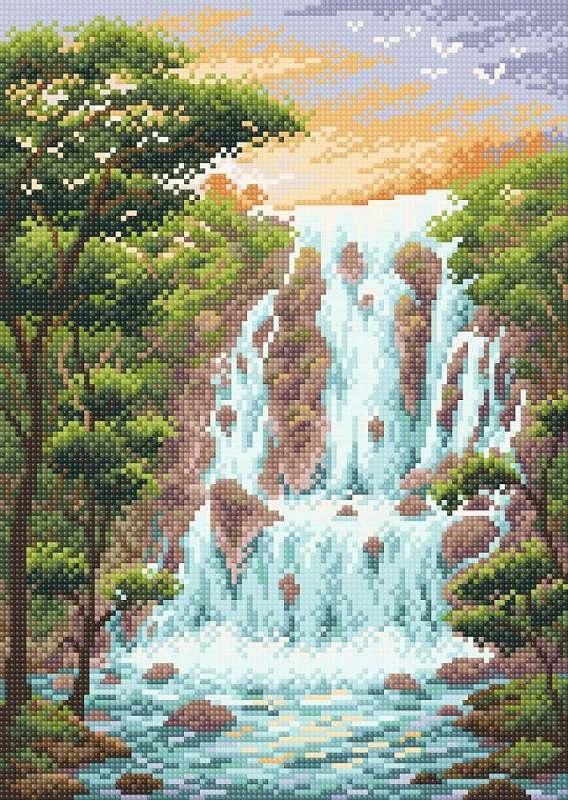 МС-083 Крутой водопад