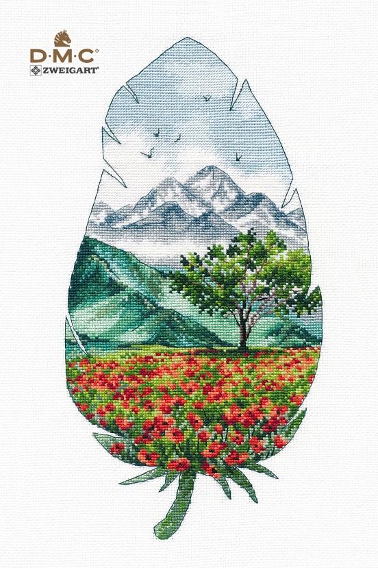 1416  Горный пейзаж-3 (Овен)