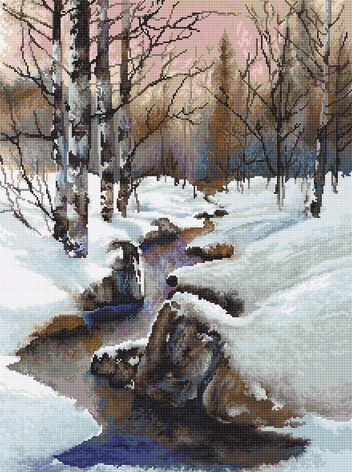 B609 Зима