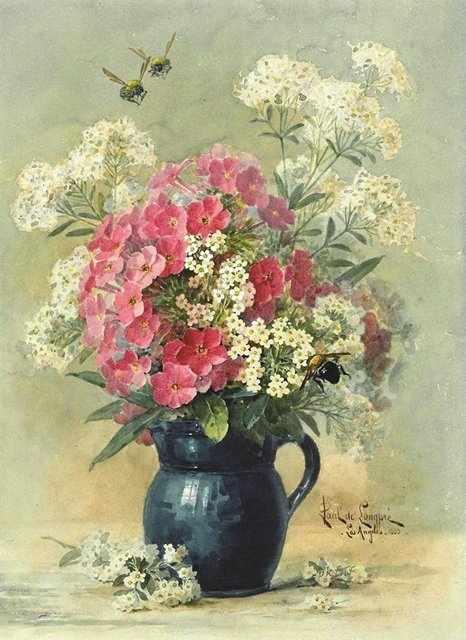 296 Бело-розовый букет