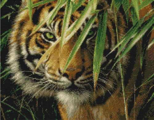35027 Ожидающий тигр KKrafts