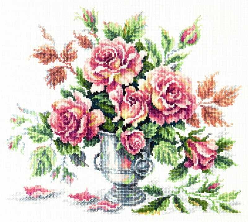 40-71 Розовая нежность