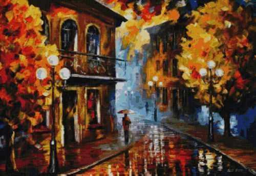 50040 Дождливый вечер -мозаика Anya