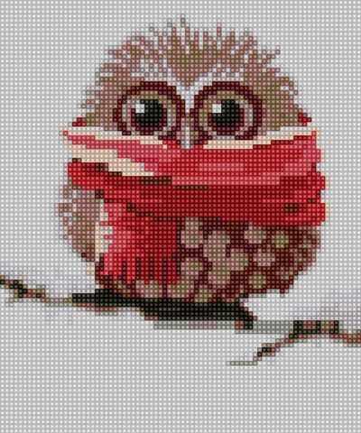 50078 Совенок-зима - мозаика Anya