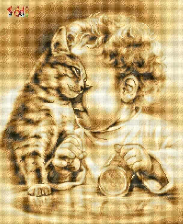 71024,15 Не плачь, малыш! - мозаика Anya