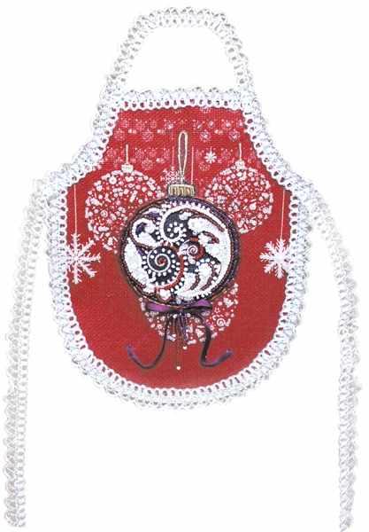 8210 Новогодний перезвон - фартук набор (МП)