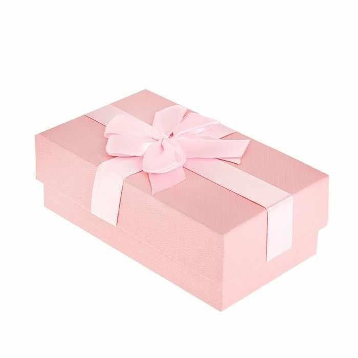 """892913 Коробка подарочная """"Коллекция"""", цвет розовый"""