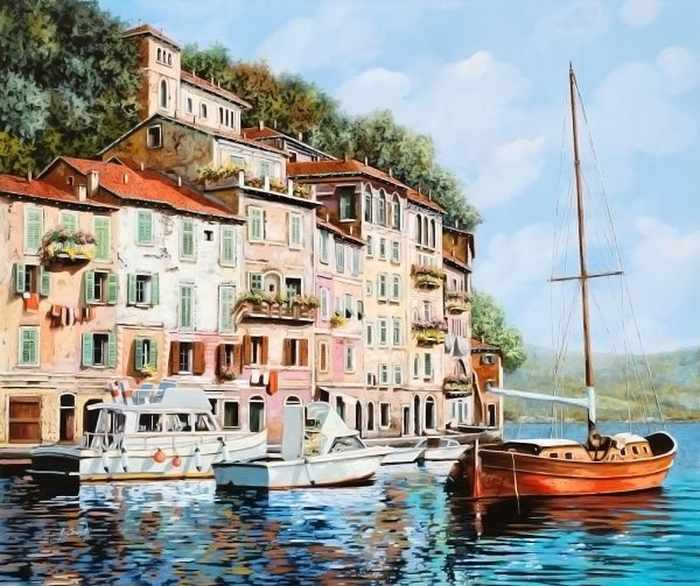 Ag608 - Манящая Италия - мозаика
