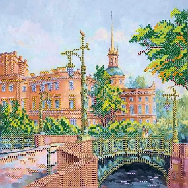 """АС-450 """"Мост влюбленных"""" - схема для вышивания (Абрис Арт)"""