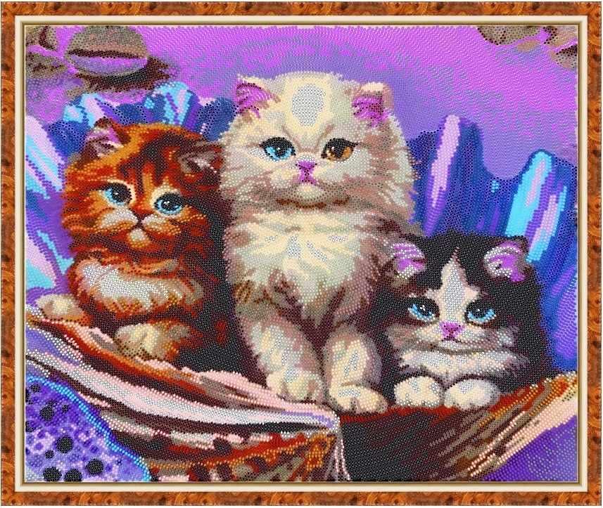 Б-3218 - Милые котята - схема (Алёшкина любовь)