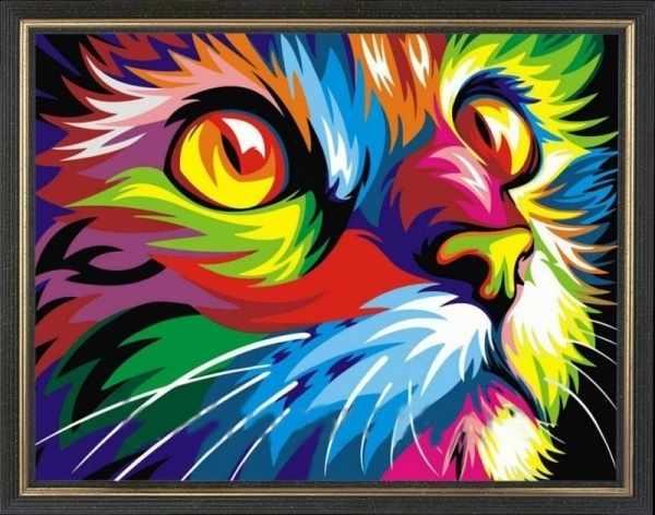 CKC018 Радужный кот