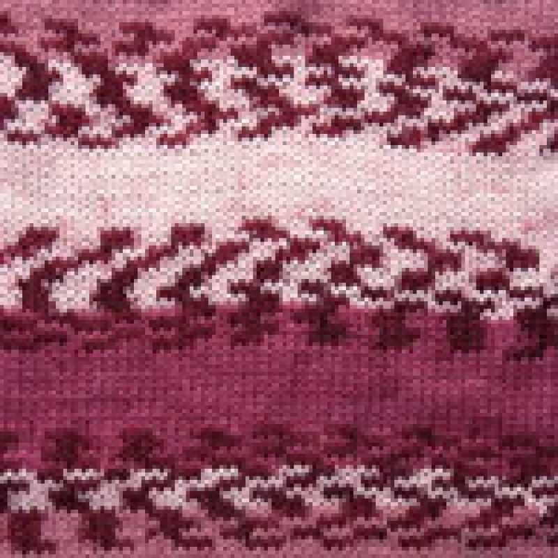 Пряжа YarnArt Crazy Color Цвет.136 Розовый Меланж