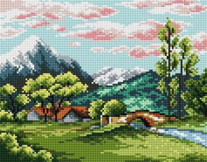 F011 - мозаика Anya