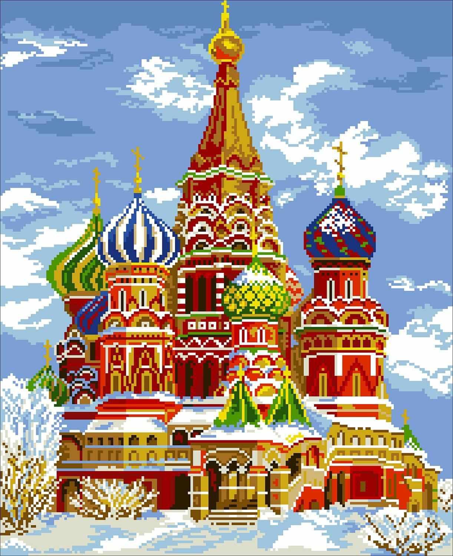 Храм Василия Блаженного (АЖ-476)- картина стразами