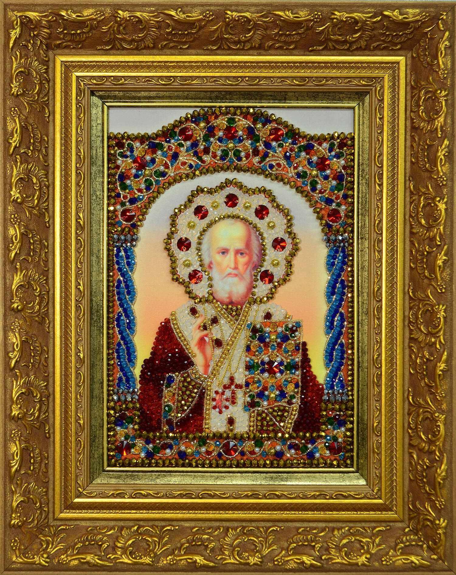 и-4 образ святого николая чудотворца