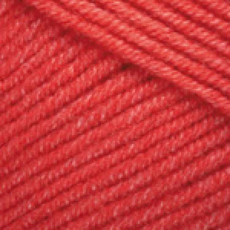 Пряжа YarnArt Jeans Цвет.26 Красный