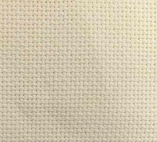 Канва Аида цв. молочный шир.160 14ct 55/10 кл.