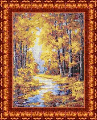 КБП 3041 Осенние краски - схема для вышивания (Каролинка)