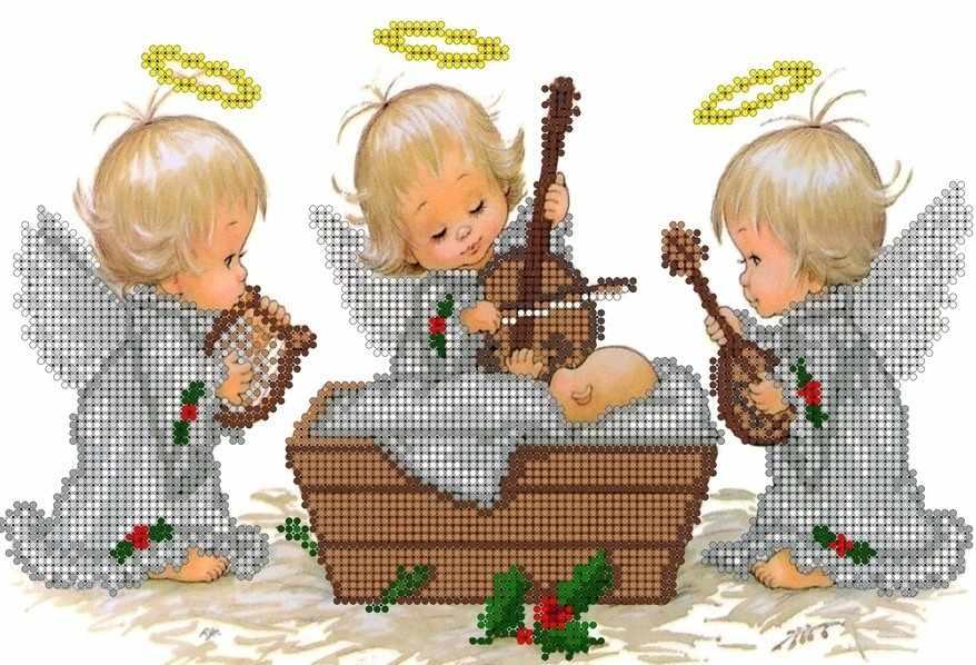 КМЧ-4365 Ангелочки - схема (Мастерица)