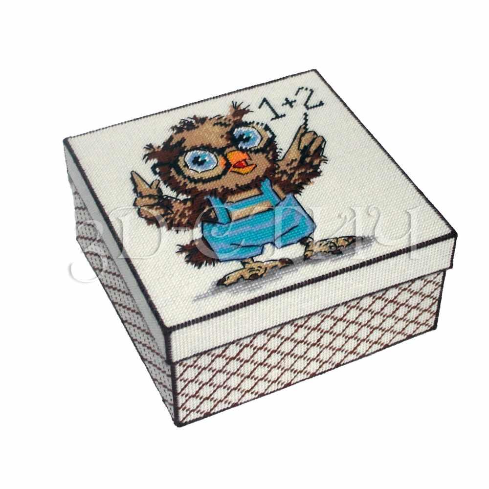 "КР016 Коробка ""Совенок-математик"" (3D)"