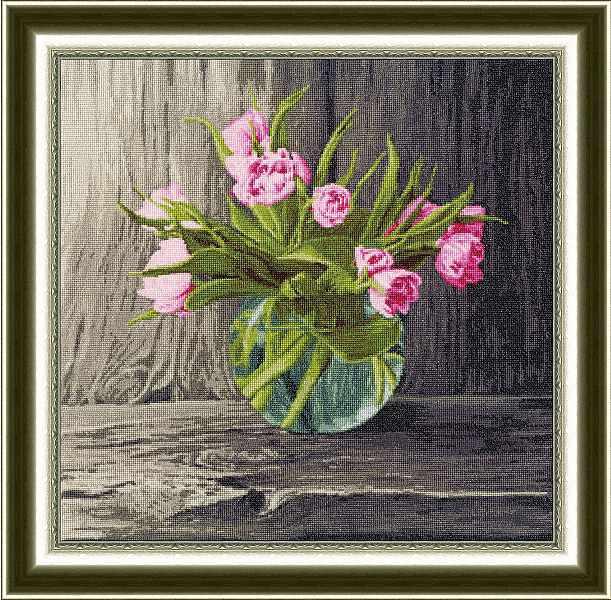 ЛЦ-046 Голландские тюльпаны. Любимые цветы