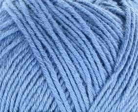 Пряжа Пехорка Нежная Цвет.256 Св.джинса