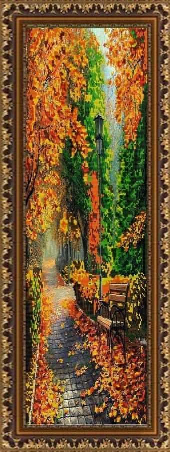 НИК 9675 Полиптих Осень, Ч.1 - схема для вышивания
