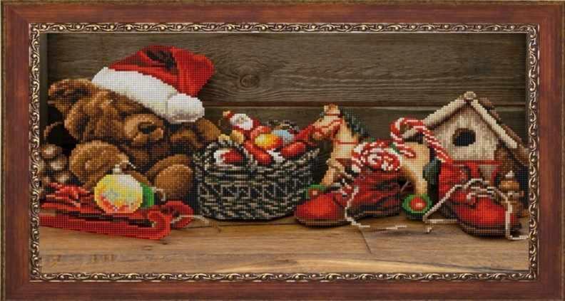НИК 9846 Новогодняя - рисунок на ткани