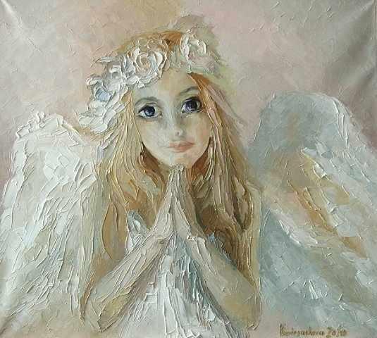 O-528 Девочка-Ангелок - мозаика Милато