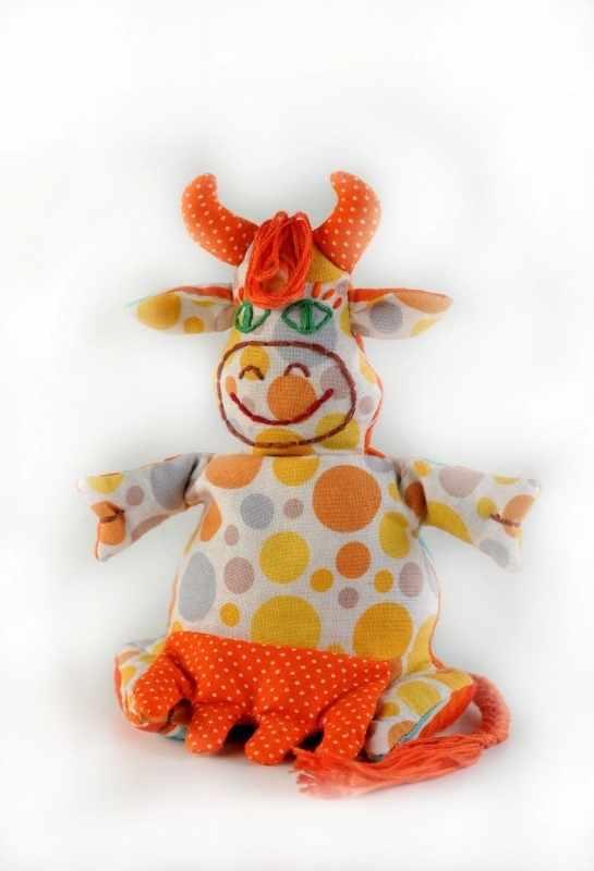 П 106 Корова-Буренка - игрушка (Перловка)