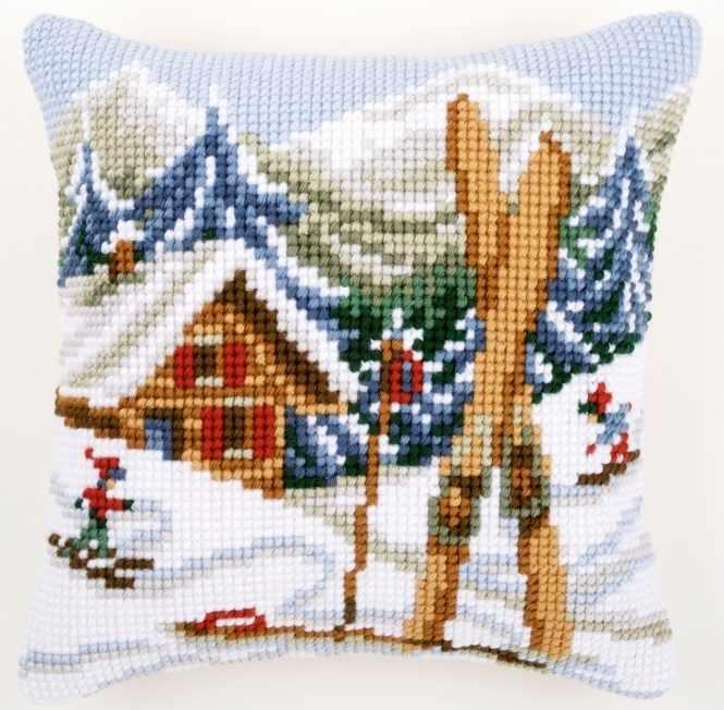 PN-0021868 Cross stitch Cushion (Vervaco)