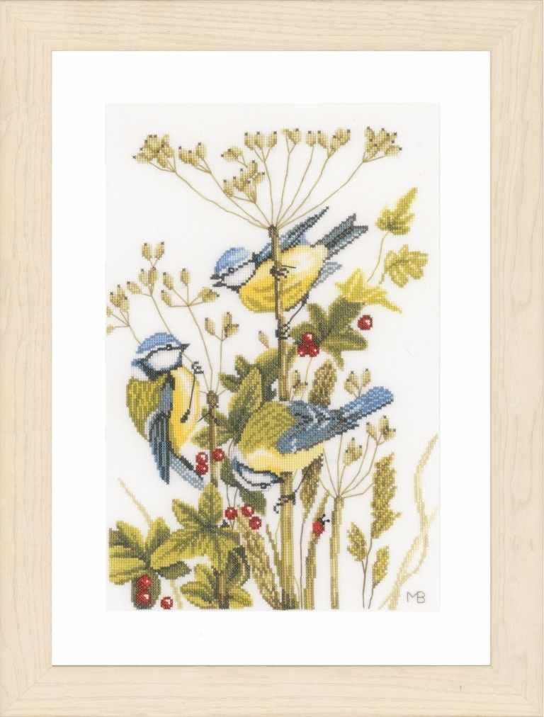 PN-0156945 Birds with berries (Lanarte)
