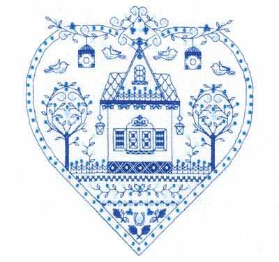 СО-1402 Синее сердечко