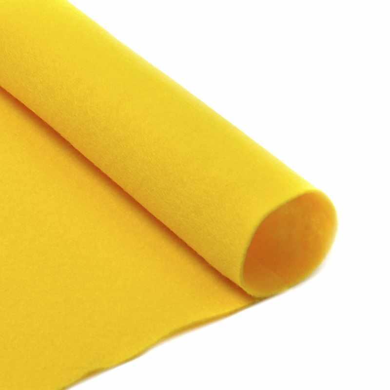 TBY.FLT-S1.643 Фетр листовой мягкий, желтый