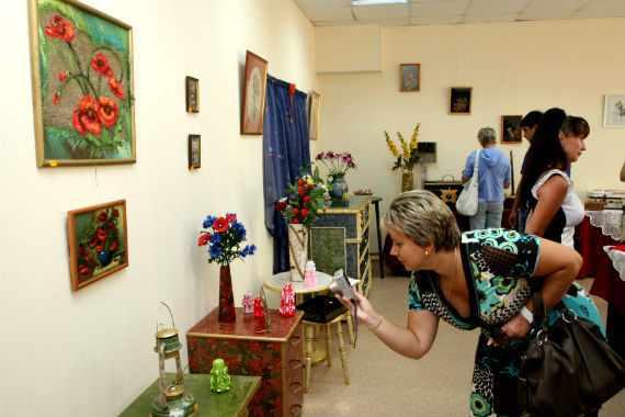 Выставка мастеров Рыбинска