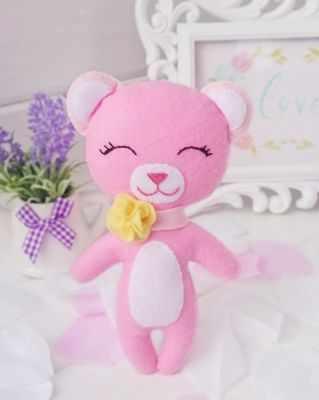 Набор для изготовления игрушки ТУТТИ 03-14 Мишка Пинки