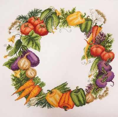 Фото - Набор для вышивания Марья искусница 06.002.59 Овощное изобилие набор для вышивания марья искусница 02 006 02 ла