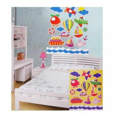 Набор для детского творчества - 1222445 Создай интерьерную наклейку Путешествие