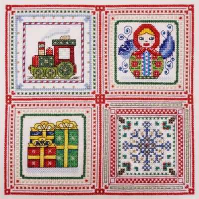 13.003.10 Рождественские истории. Глава 4 (МИ) - Наборы для вышивания «Марья Искусница»