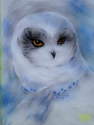 1415557 Набор для создания картины Северная сова