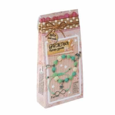 1680329 Набор по созданию браслетов  Свежесть лета  - Наборы для изготовления бижутерии
