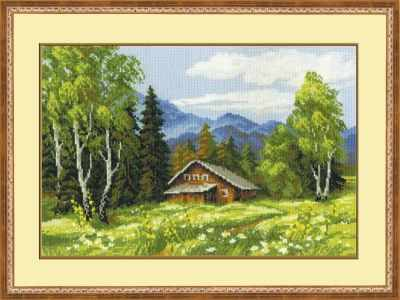 Набор для вышивания Риолис (Сотвори Сама) 1051 «Шале»