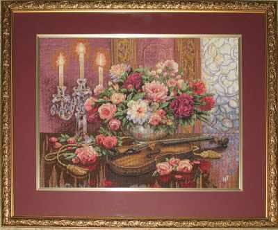 Набор для вышивания Dimensions 35185-DMS Романтический букет набор для вышивания крестом rto букет хризантем 50 х 40 см