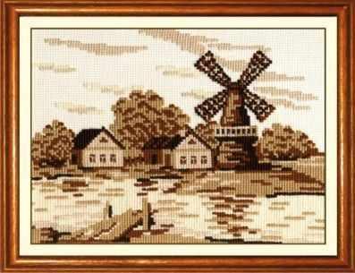 Набор для вышивания Сделай своими руками С-15 Старая мельница