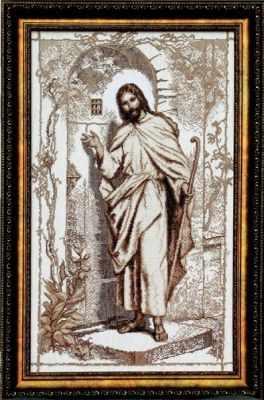 """354 """"Иисус, стучащийся в дверь"""""""