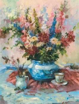 51454 Летние цветы - Наборы для вышивания крестом «Candamar»